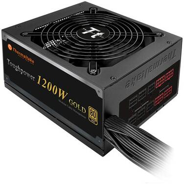 1200 Watt Thermaltake Tough Power GOLD Modular Power Supply PN TPD-1200MPCGAU-1