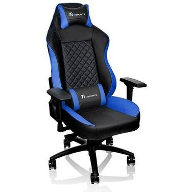 Thermaltake GT Comfort GTC500 Gaming Chair Black & Blue PN GC-GTC-BLLFDL-01
