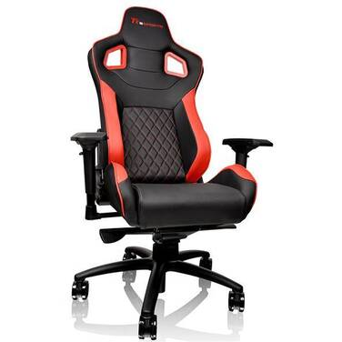 Thermaltake GT Fit GTF100 Gaming Chair Black & Red PN GC-GTF-BRMFDL-01