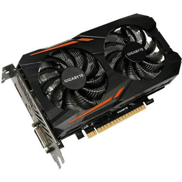 Gigabyte GTX1050Ti 4GB PCIe Video Card PN GV-N105TOC-4GD