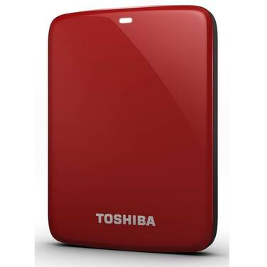 2TB Toshiba Canvio Connect II 2.5 USB 3.0 RED HDD PN HDTC820AR3C1