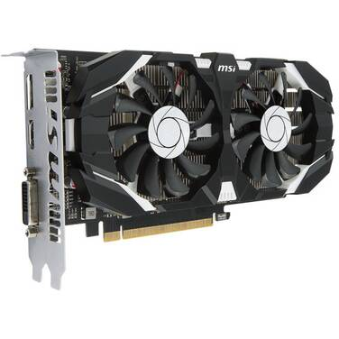 MSI GTX1050Ti 4GB 4GT OC PCIe Video Card PN GTX 1050 Ti 4GT OC