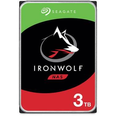 3TB Seagate 3.5 5900rpm SATA IronWolf NAS HDD PN ST3000VN007