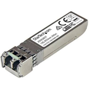 StarTech 10 Gigabit Fiber SFP+ Transceiver Module - HP JD092B Compatible - MM LC with DDM - 300m (984 ft)