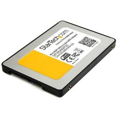 StarTech M.2 SSD to 2.5in SATA III Adapter NGFF Solid State Drive Converter with Protective Housing