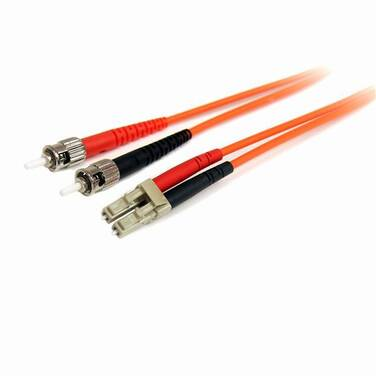 StarTech Fiber Optic Cable - Multimode Duplex 62.5/125 - LSZH - LC/ST - 5 m