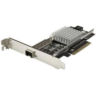 StarTech 1-Port 10G Open SFP+ Network Card - PCIe - Intel Chip - MM/SM