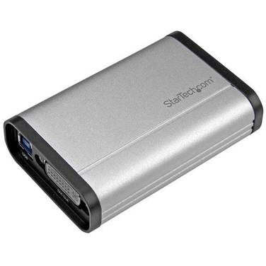 StarTech USB 3.0 Capture Device for High-Performance DVI Video - 1080p 60fps - Aluminum