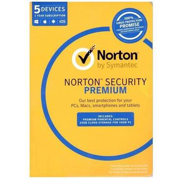 Norton Security Premium 3.0 OEM for 5 PCs PN 21353883
