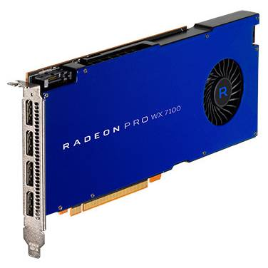 AMD Radeon Pro WX7100 8GB PCIe Video Card