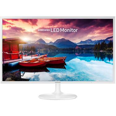 31.5 Samsung S32F351FUE LED White Monitor