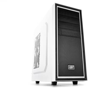 Deepcool ATX Tesseract BF Case White (No PSU) PN TSRBF-WH