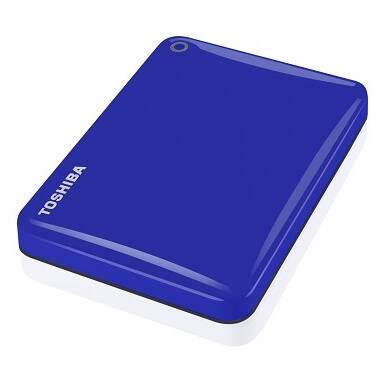 2TB Toshiba Canvio Connect II 2.5 USB 3.0 BLUE HDD PN HDTC820AL3C1