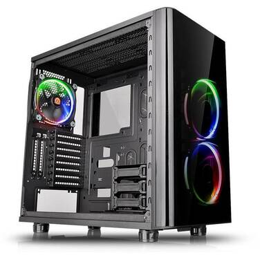 Thermaltake ATX View 31 TG RGB Tempered Glass Case (No PSU) PN CA-1H8-00M1WN-01