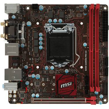 MSI S1151 Mini-ITX B250i Gaming PRO AC DDR4 Motherboard