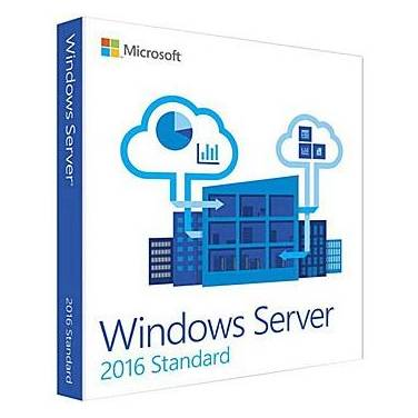 Microsoft Windows Server 2016 Standard 24 Core 64bit OEM DVD PN P73-07132