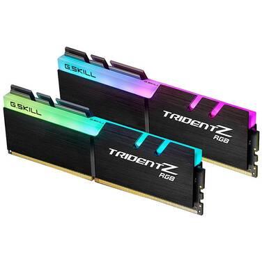 16GB DDR4 (2x8G) G.Skill F4-3000C16D-16GTZR 3000Mhz Trident Z RGB RAM Kit
