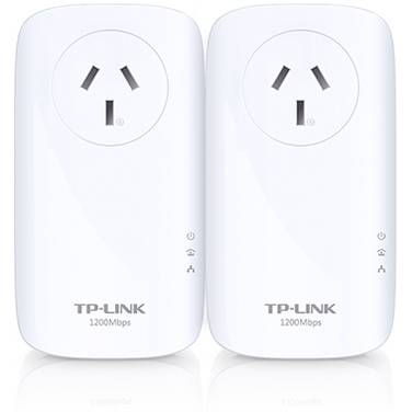 TP-Link TL-PA8010P-KIT AV1200 Ethernet over Power Adapter Starter Kit