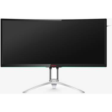 35 AOC AGON AG352QCX LED Curved Gaming Monitor with Speakers and Height Adjust