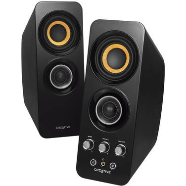 Creative T30 Wireless 2.0 Speakers Black