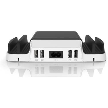 4 Port HuntKey HK-SCA607 5v 2.4a USB Charging Dock