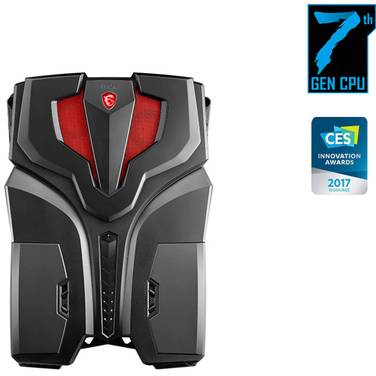 MSI VR ONE 7RE-068AU Core i7 BackPack PC Win 10 Pro