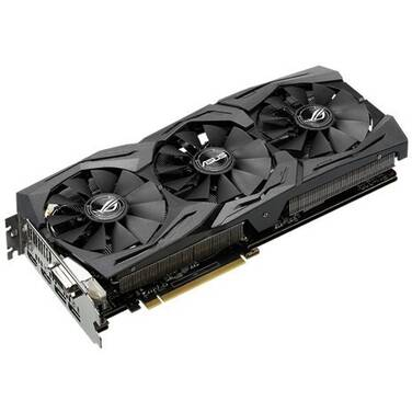 ASUS GTX1080Ti 11GB STRIX Gaming PCIe Video Card PN ROG-STRIX-GTX1080TI-O11G-GAMING