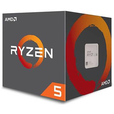 AMD AM4 Ryzen 5 1600 Hex Core 3.6GHz CPU PN YD1600BBAEBOX