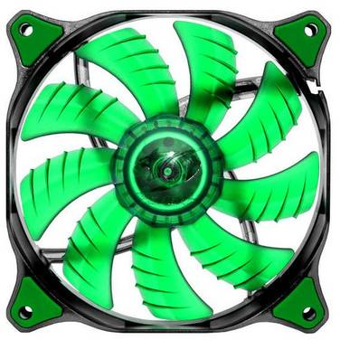 120mm Cougar Green LED Case Fan PN CF-D12HB-G
