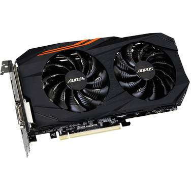 Gigabyte RX580 8GB AORUS PCIe Video Card PN GV-RX580AORUS-8GD