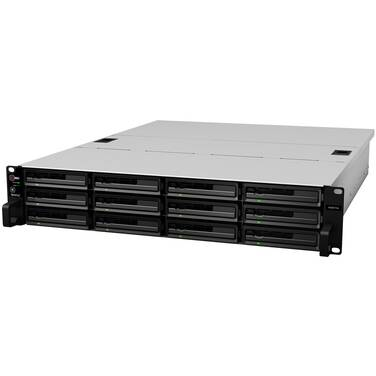 12 Bay Synology RS3617XS RackStation Gigabit NAS Unit