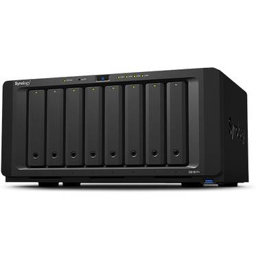 8 Bay Synology DS1817+ 8GB DiskStation Scalable Gigabit NAS Unit