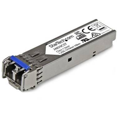 StarTech Gigabit Fiber SFP Transceiver Module - HP J4859C Compatible - SM/MM LC with DDM - 10km (6.2 mi.) / 550m (1804 ft.)