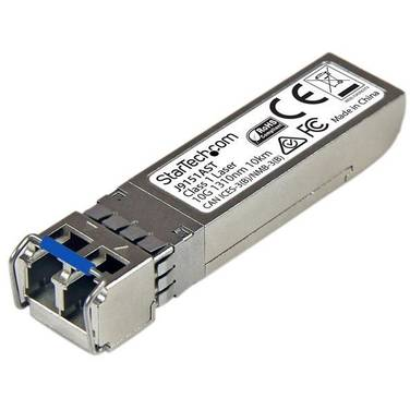 StarTech 10 Gigabit Fiber SFP+ Transceiver Module - HP J9151A Compatible - SM LC with DDM - 10 km (6.2 mi)
