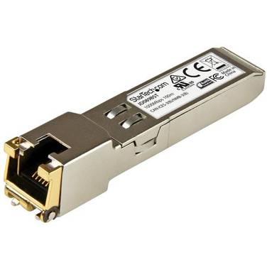 StarTech Gigabit RJ45 Copper SFP Transceiver Module - HP JD089B Compatible - 100m