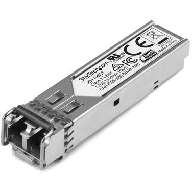 StarTech Gigabit Fiber 1000Base-LX SFP Transceiver Module - HP JD119B Compatible - SM LC - 10 km (6.2 mi)