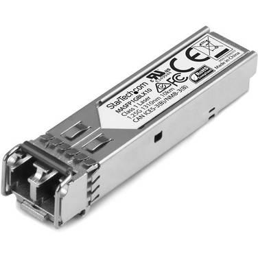 StarTech Gigabit Fiber 1000Base-LX SFP Transceiver Module - Cisco Meraki MA-SFP-1GB-LX10 Compatible - SM LC - 10 km (6.2 mi)