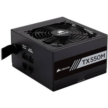 550 Watt Corsair TX550M Modular 80 PLUS Gold Power Supply PN CP-9020133-AU