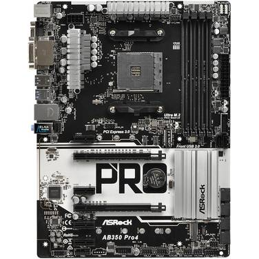 Asrock AM4 ATX AB350 PRO4 AM4 Motherboard