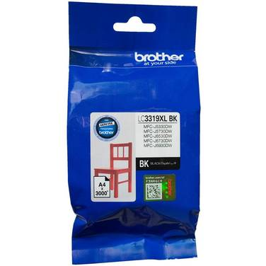 Brother LC-3319XL Black High Yield Ink Cartridge (3,000 Pages)