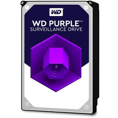 10TB WD 3.5 SATA 6Gb/s Purple SV HDD PN WD100PURZ