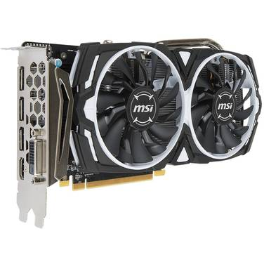 MSI RX570 4GB ARMOR OC PCIe Video Card PN RX 570 ARMOR 4G OC