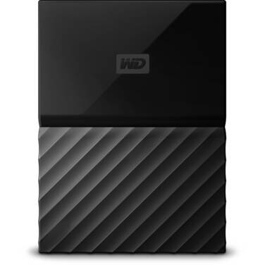 4TB WD 2.5 USB 3.0 My Passport Portable HDD Black PN WDBYFT0040BBK-WESN