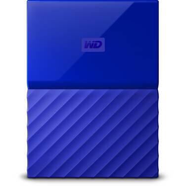 4TB WD 2.5 USB 3.0 My Passport Portable HDD Blue PN WDBYFT0040BBL-WESN