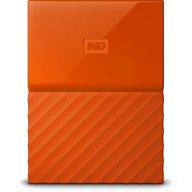 4TB WD 2.5 USB 3.0 My Passport Portable HDD Orange PN WDBYFT0040BOR-WESN