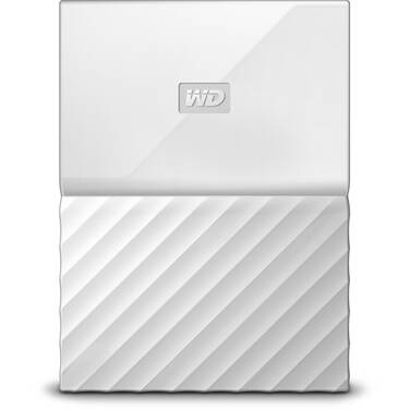 4TB WD 2.5 USB 3.0 My Passport Portable HDD White PN WDBYFT0040BWT-WESN