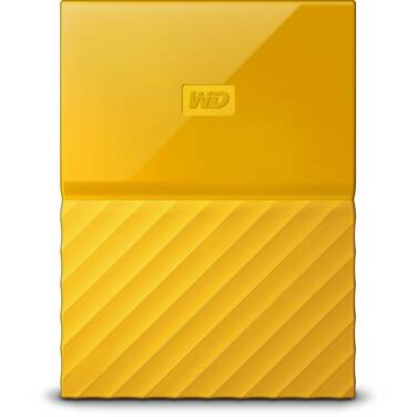 4TB WD 2.5 USB 3.0 My Passport Portable HDD Yellow PN WDBYFT0040BYL-WESN