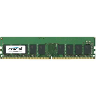 8GB Crucial DDR4 (1x8GB) 2400MHz ECC Unbuffered Server Memory PN CT8G4WFS824A