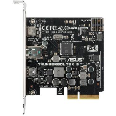 ASUS Thunderbolt 3 Card PCIe x4 Single Port PN THUNDERBOLTEX