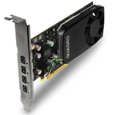 Leadtek Quadro P600 2GB Low-Profile Quad 4K Workstation Video Card